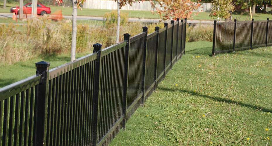 Commercial Wrought Iron Fencing